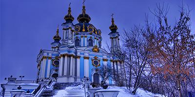 Андріївська церква відкрилася після  реставрації