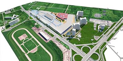 На Іподромі з'явиться величезний ТЦ з льодовим стадіоном